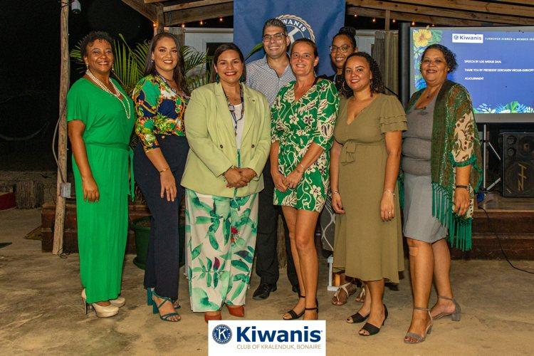 Kiwanis Club Bonaire benoemt nieuw Bestuur 2021-2022