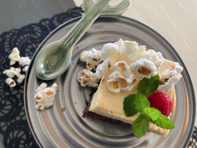Koken met Corjan: Mais-brownie taart
