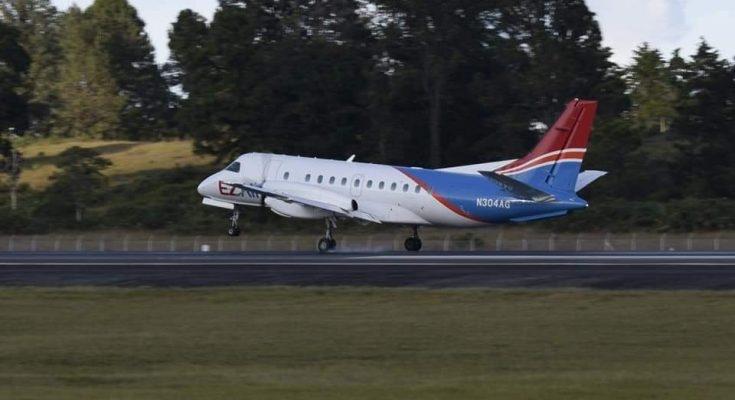 EZ Air voert eerste vlucht uit naar Medellin in Colombia