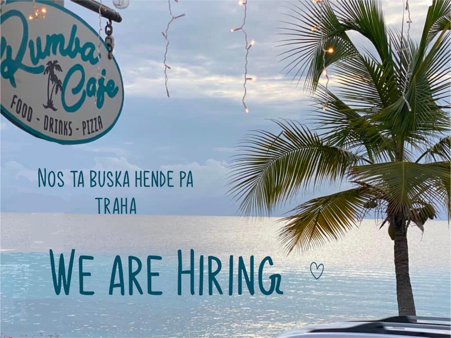 Vacature Pizza Kok en Bediening Medewerkers Bonaire