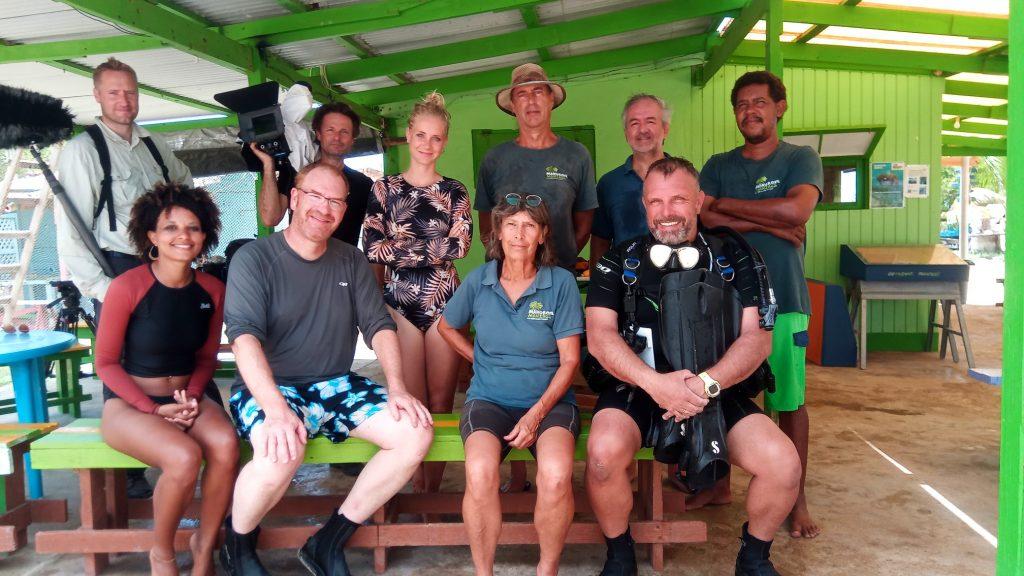 Het Klokhuis maakt uitzending over oceanen op Bonaire