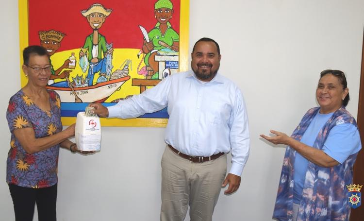 Prinses Wilhelmina Fonds begint aan collectemaand op Bonaire