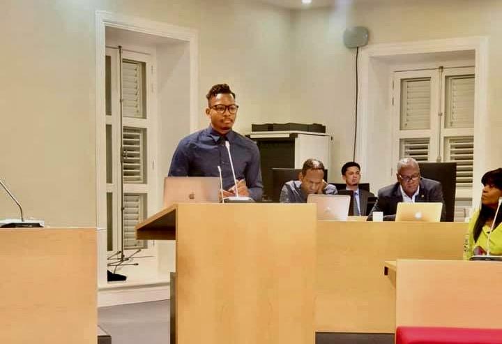 Sion Janga vertegenwoordigt Bonaire op het European Youth Event EYE