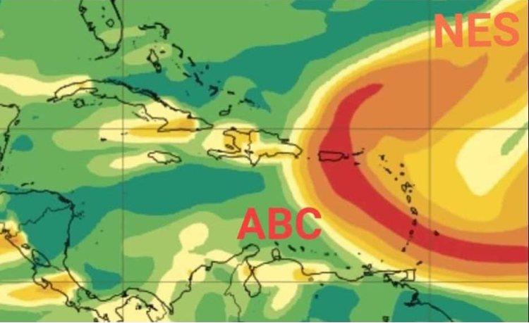 Vulkaanas en Saharastof bereiken Caribisch gebied
